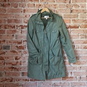 Medium Green Raincoat